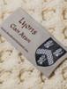 Lyons Clan Scarf - Label