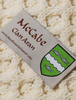 Mc Cabe Clan Aran Throw - Label