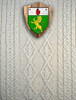 Mc Guinness Clan Aran Throw