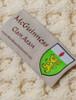 Mc Guinness Clan Aran Throw - Label