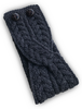 Merino Buttoned Headband - Derby Grey