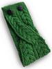 Merino Buttoned Headband - Kiwi