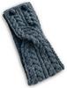 Merino Buttoned Headband - Merino Grey