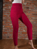 Wool Cashmere Aran Cable Leggings - Brambleberry