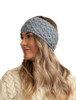 Super Soft Tree of Life Headband - Ocean Grey