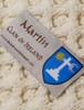 Martin Clan Aran Poncho - Label