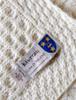 Murray Clan Aran Bed Runner Label