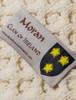 Moran Clan Aran Bed Runner - Label