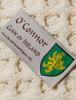 O'Connor Clan Aran Bed Runner - Label