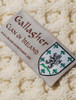 Gallagher Clan Aran Bed Runner - Label