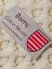 Barry Clan Aran Poncho - Label