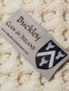 Buckley Clan Aran Poncho - Label