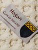 Hogan Clan Aran Poncho - Label