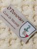 O'Donovan Clan Aran Poncho - Label