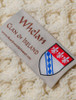 Whelan Clan Aran Poncho - Label