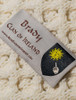 Brady Clan Aran Bed Runner - Label