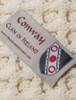 Conway Clan Aran Bed Runner - Label