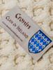 Cronin Clan Aran Bed Runner - Label