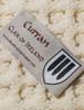 Curran Clan Aran Bed Runner - Label