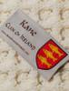 Kane Clan Aran Bed Runner - Label