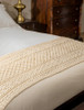 O'Malley Clan Aran Bed Runner