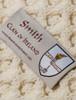 Smith Clan Aran Bed Runner - Label