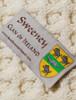 Sweeney Clan Aran Bed Runner - Label