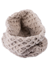 Aran Snood Scarf - Wicker