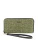 Mucros Tweed Purse- Light Green