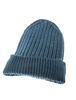 Men's Ribbed Super Soft Merino Wool Hat - Irish Sea