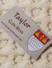 Taylor Clan Scarf - Label