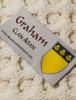 Graham Clan Scarf - Label