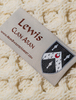 Lewis Clan Scarf - Label