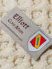 Elliot Clan Scarf - Label