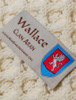 Wallace Clan Scarf - Label