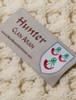 Hunter Clan Scarf - Label