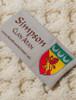 Simpson Clan Scarf - Label