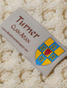 Turner Clan Scarf - Label