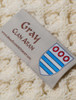 Gray Clan Scarf - Label