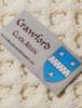 Crawford Clan Scarf - Label