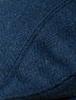 Donegal Tweed Flat Cap - Navy Herringbone
