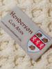 Henderson Clan Aran Throw - Label