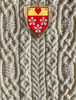 Hamilton Clan Aran Throw