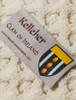 Kelleher Clan Aran Poncho - Label
