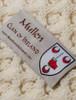 Mullen Clan Aran Poncho - Label