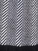 Ross Super-Soft Merino Scarf - Black & White