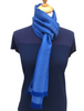 Ross Super-Soft Merino Scarf - Blue Mix