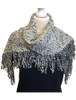 Looped Fringed Scarf Atlantic Mix