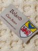 Boland Clan Aran Poncho - Label