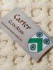 Carter Clan Aran Poncho - Label